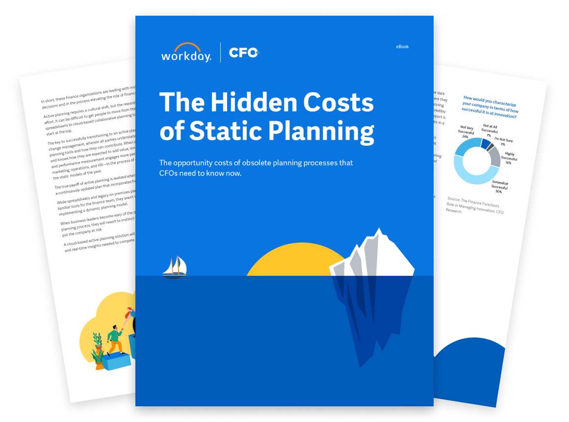 The Hidden Costs of Static Planning That CFOs Need To Know Now
